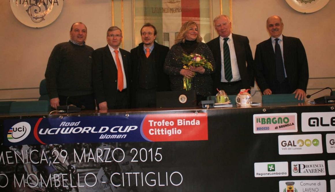 """Presentato ufficialmente il """"Trofeo Binda – Coppa del Mondo"""""""