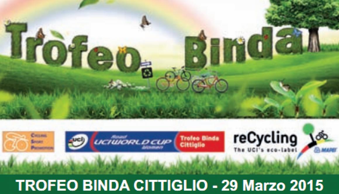"""""""Trofeo Binda CDM"""" e Cittiglio all'insegna del ReCycling"""