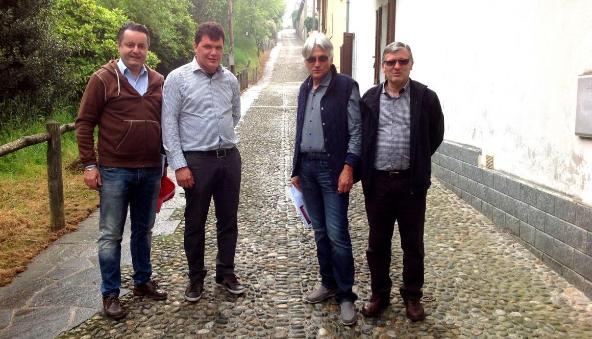 """Il CT Marino Amadori ha visionato il percorso del """"Trofeo Almar"""""""