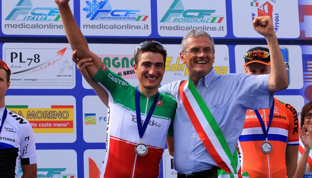 """Questa sera su RaiSport2 (ore 19:00) il trionfo di Gianni Moscon al """"Trofeo Almar"""""""