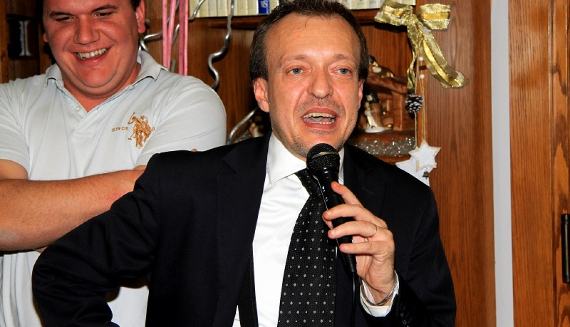 """Alfredo Binda Trophy Women's World Tour"", greetings from Fabrizio Anzani, Mayor of Cittiglio"