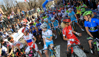 """Trofeo Alfredo Binda – Comune di Cittiglio – Women's World Tour"" (ph: F. Ossola)"