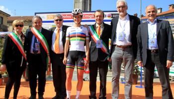 """""""Trofeo Alfredo Binda – Comune di Cittiglio – Women's World Tour"""" (foto: F. Ossola)"""