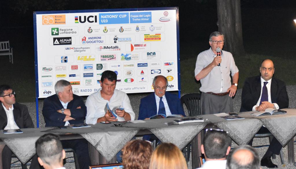 """(Italiano) Presentata ufficialmente la """"Coppa dei Laghi – Trofeo Almar – Nations' Cup"""""""