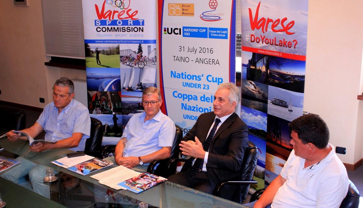 """Il """"Trofeo Almar – Coppa dei Laghi – Nations' Cup U23″ alla Camera di Commercio di Varese"""