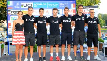 """Presentazione Squadre """"Trofeo Almar"""" a Sesto Calende (foto: F. Ossola)"""