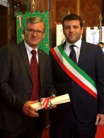 Il patron della CSP Mario Minervino nominato Cavaliere della Repubblica Italiana