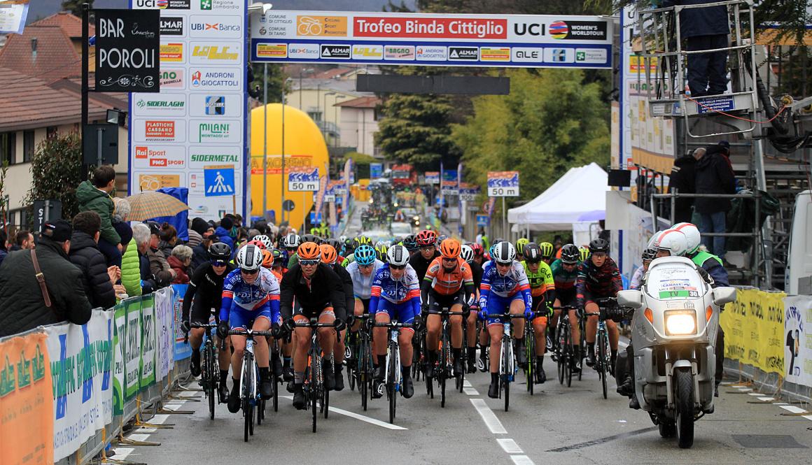 """(Italiano) """"Trofeo Alfredo Binda U.C.I. WWT"""" e PMG Sport: grande successo di pubblico in TV e Online"""