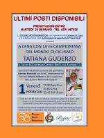(Italiano) Venerdi' 1 Febbraio a Taino (VA) stupenda serata con la fuoriclasse azzurra Tatiana Guderzo