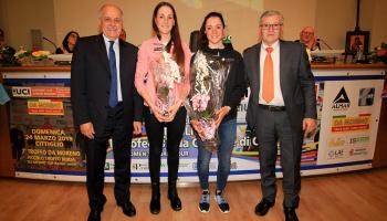 "Vernissage ""Trofeo Alfredo Binda U.C.I. WWT"" ad Ispra (foto: F. Ossola)"