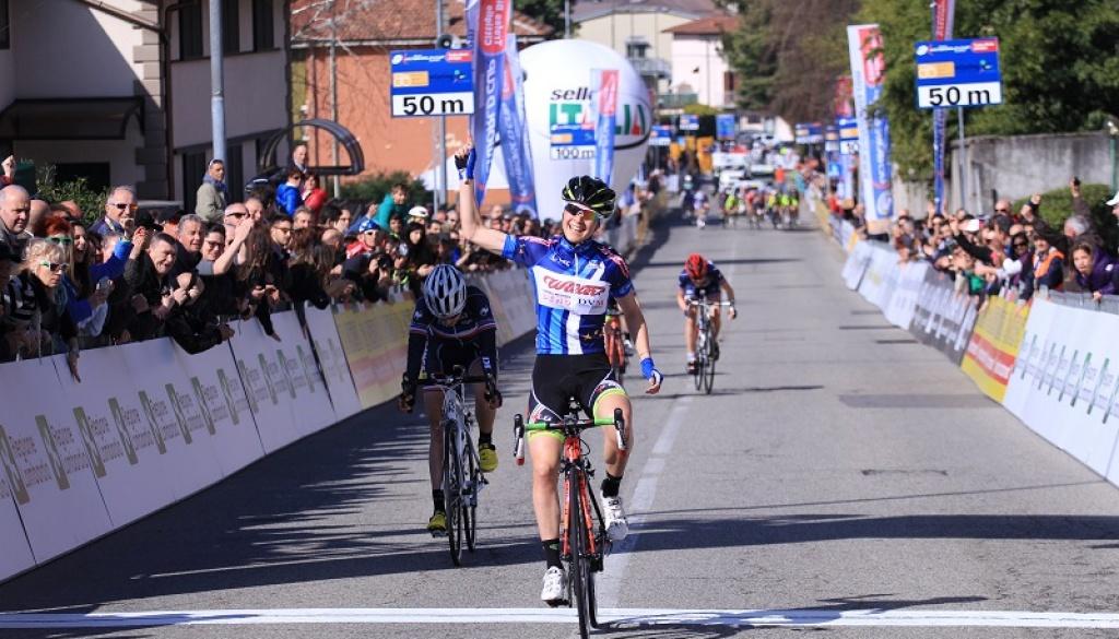 Da Moreno Junior Trophy: success in the final sprint for Sofia Bertizzolo