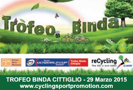 """<!--:it-->""""Trofeo Binda CDM"""" e Cittiglio all'insegna del ReCycling<!--:--><!--:en-->ReCycling project 2015<!--:-->"""