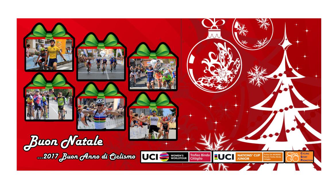 Buon Natale e Felice Anno Nuovo dalla Cycling Sport Promotion