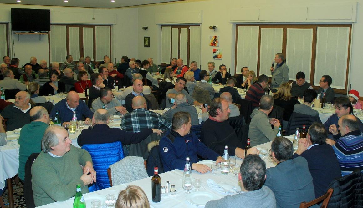 Ieri sera a Cittiglio Mario Minervino ha festeggiato i volontari della CSP