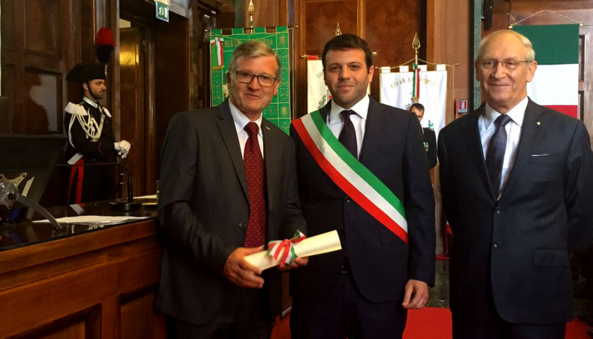 (Italiano) Il patron della CSP Mario Minervino nominato Cavaliere della Repubblica Italiana