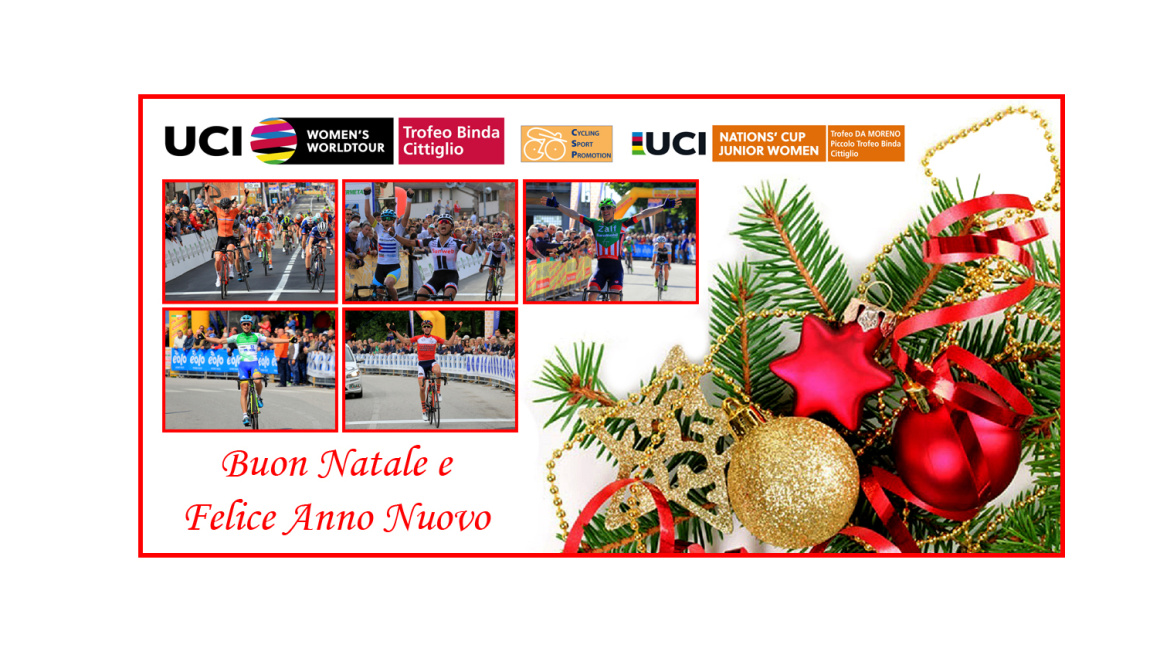 Merry Christmas and Happy New Year from Cycling Sport Promotion