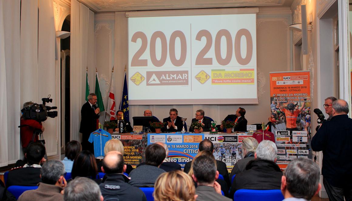 """Le 24 squadre al via del """"Trofeo Binda"""" e le 30 al via del """"Trofeo Da Moreno"""""""