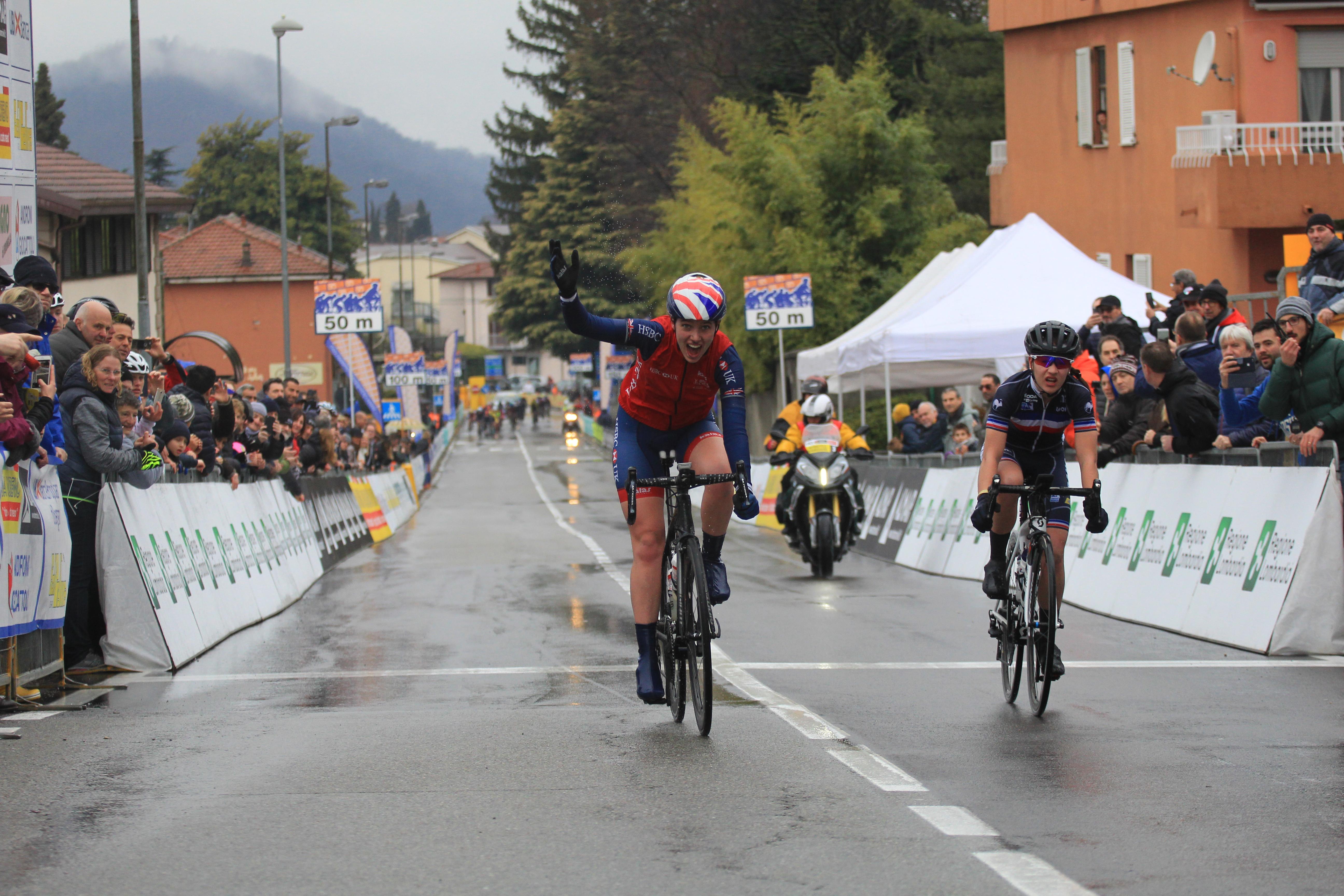 """<!--:it-->La britannica Pfeiffer Georgi ha vinto il """"Trofeo Da Moreno U.C.I. Nations' Cup Junior""""<!--:-->"""