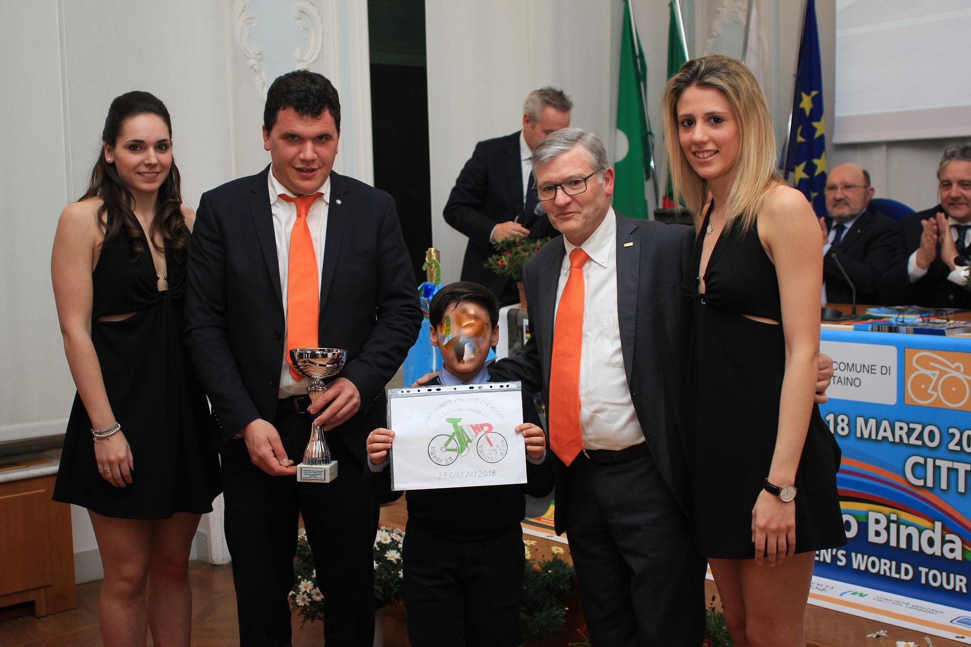 <!--:it-->Campionato Italiano Under 23: svelato il logo ufficiale, disegnato da un bambino di Taino (VA) <!--:-->