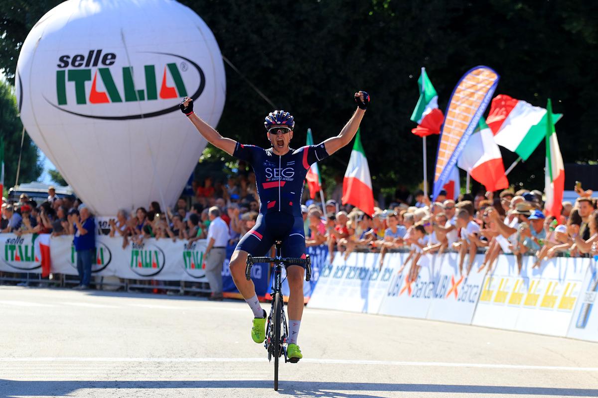 <!--:it-->Edoardo Affini e' il nuovo Campione Italiano Under 23. Grande spettacolo a Taino (VA)<!--:-->