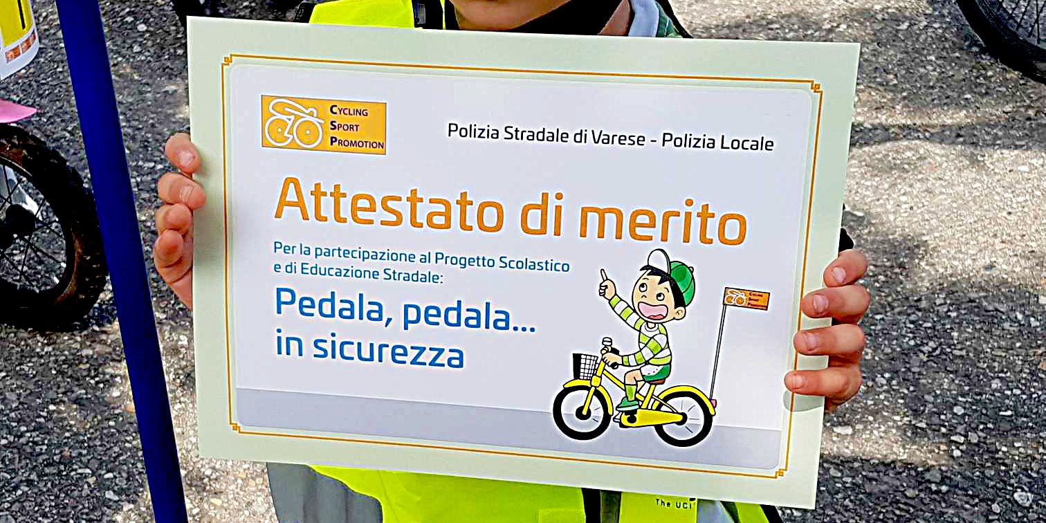 """<!--:it-->Il 2019 della Cycling Sport Promotion inizia con il progetto scolastico """"Pedala, Pedala… in Sicurezza!""""<!--:-->"""