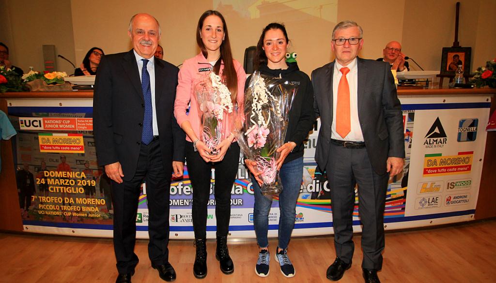 """(Italiano) Vernissage ufficiale del """"Trofeo Alfredo Binda U.C.I. WWT"""" e del """"Trofeo Da Moreno"""" ad Ispra (VA)"""