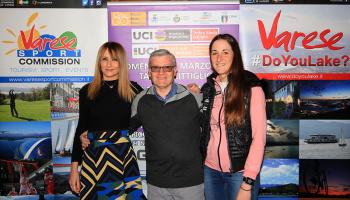 """Il """"Trofeo Binda"""" alla Camera di Commercio di Varese (foto: F. Ossola)"""