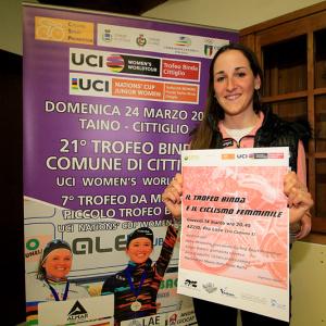"""Serata """"Trofeo Binda e Ciclismo Femminile"""" ad Azzio (foto: F. Ossola)"""