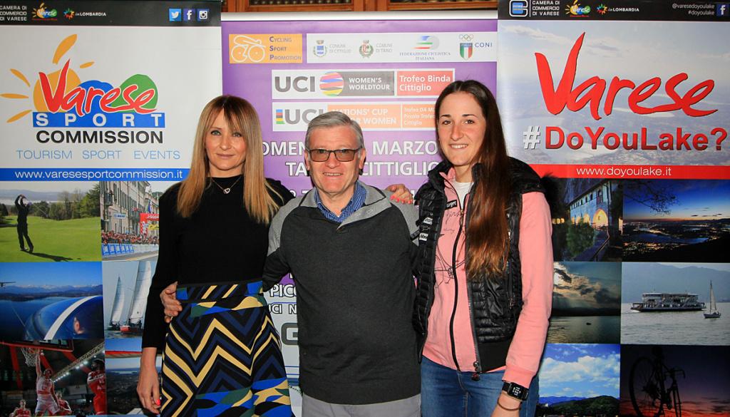 """(Italiano) Il """"Trofeo Alfredo Binda U.C.I. WWT"""" presentato alla Camera di Commercio di Varese"""