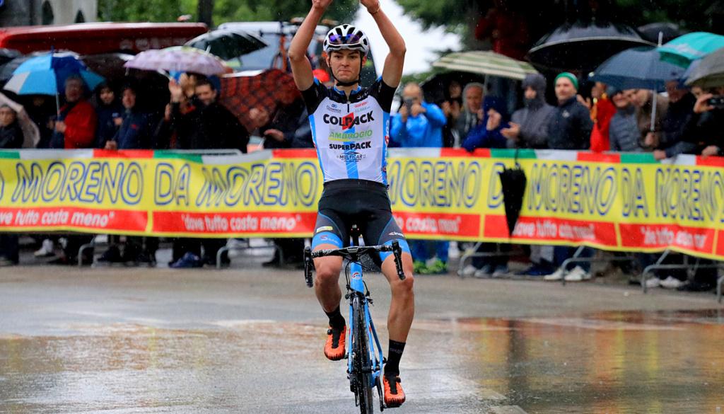 """Fantastico assolo di Alessandro Covi al """"Trofeo Corri per la Mamma – Trofeo Giucolsi – Coppa dei Laghi – Trofeo Almar"""""""