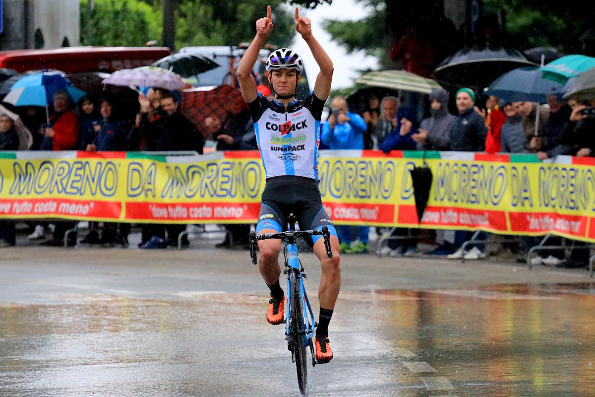 """<!--:it-->Fantastico assolo di Alessandro Covi al """"Trofeo Corri per la Mamma – Trofeo Giucolsi – Coppa dei Laghi – Trofeo Almar""""<!--:-->"""