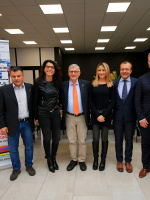 """(Italiano) Al Centro Commerciale di Cocquio Trevisago (VA) le nuove partenze del """"Trofeo Binda U.C.I. WWT"""" e del """"Trofeo Da Moreno"""""""