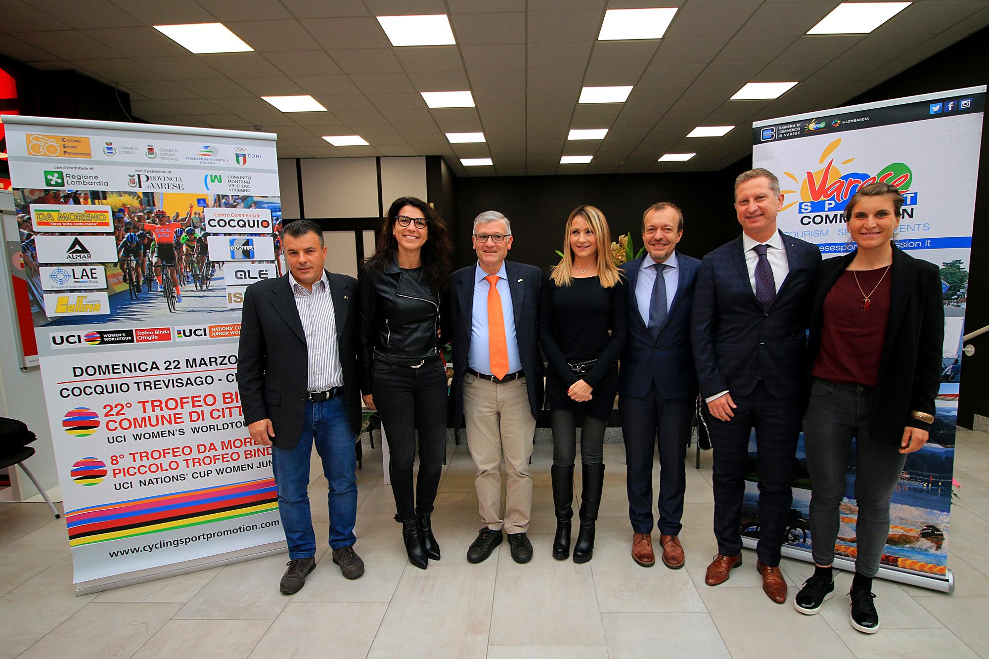 """<!--:it-->Al Centro Commerciale di Cocquio Trevisago (VA) le nuove partenze del """"Trofeo Binda U.C.I. WWT"""" e del """"Trofeo Da Moreno""""<!--:-->"""