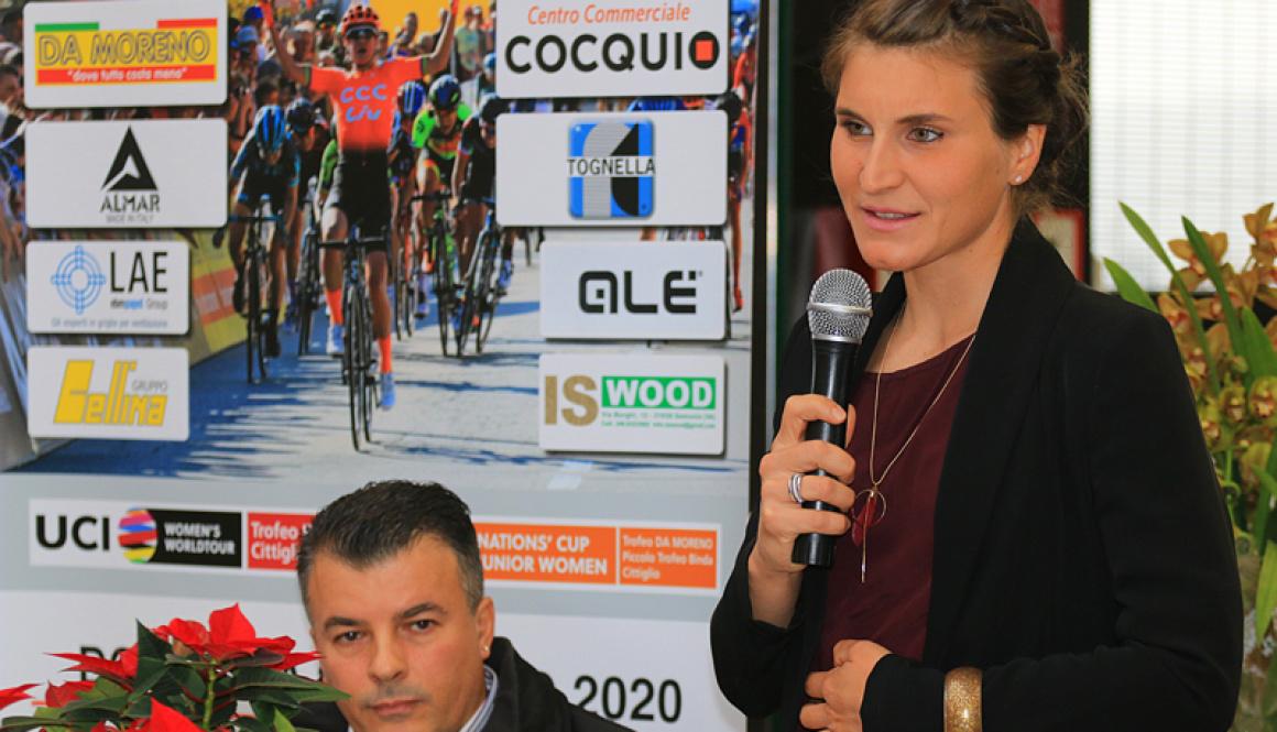 """Sabato 22 Febbraio a Caldana di Cocquio Trevisago (VA) il vernissage ufficiale del """"Trofeo Alfredo Binda U.C.I. WWT"""""""
