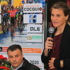 "Vernissage nuova sede di partenza ""22^ Trofeo Alfredo Binda U.C.I. WWT"" (foto: F. Ossola)"