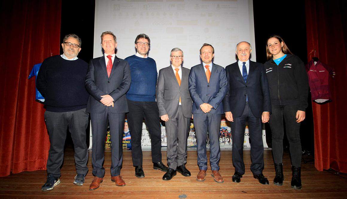"""Gran Gala di presentazione del """"Trofeo Alfredo Binda U.C.I. WWT"""" e del """"Trofeo Da Moreno Nations' Cup Junior"""""""