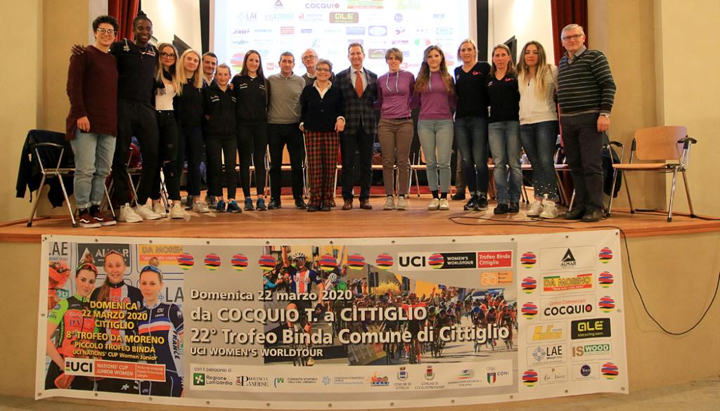 """Grande successo a Caldana di Cocquio Trevisago (VA) per il """"talk show"""" sul ciclismo femminile"""