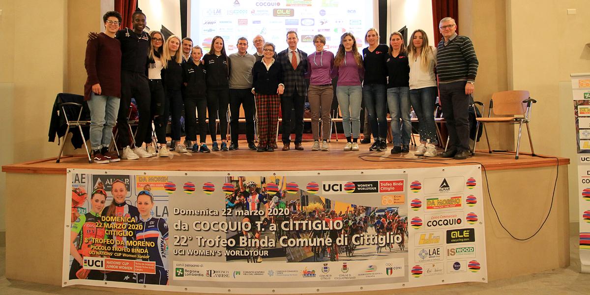 """<!--:it-->Grande successo a Caldana di Cocquio Trevisago (VA) per il """"talk show"""" sul ciclismo femminile<!--:-->"""