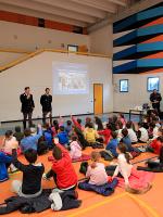 """(Italiano) Grande successo per il progetto scolastico: """"Pedala, Pedala… in Sicurezza!"""" nelle scuole di Gemonio e Cittiglio"""