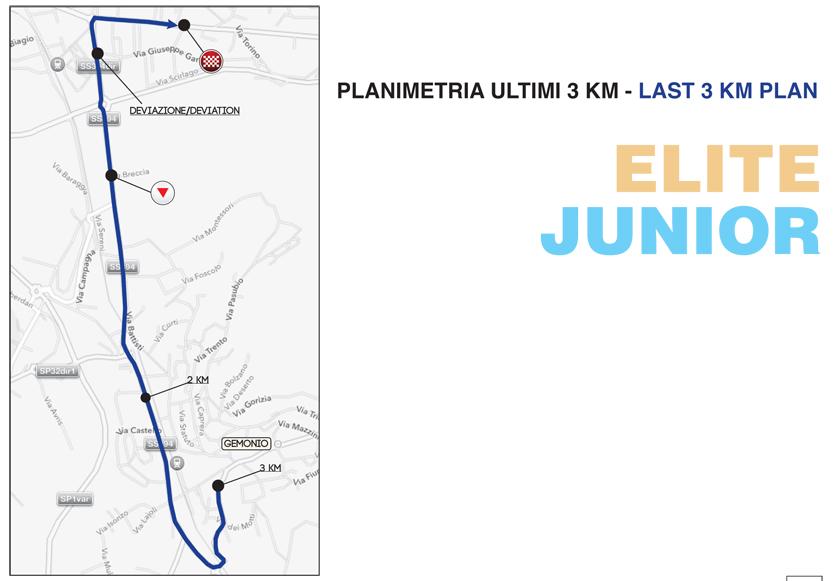 Planimetria Ultimi 3 Km